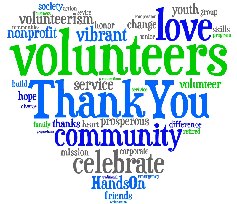 jpg royalty free library Free thank you volunteer. Volunteering clipart recognition.