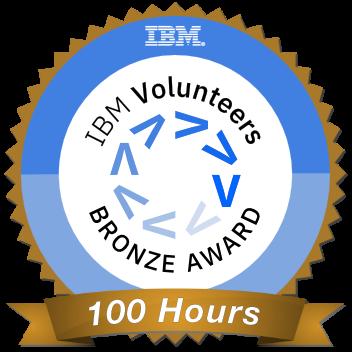 clip free download Ibm volunteers this badge. Volunteering clipart recognition.