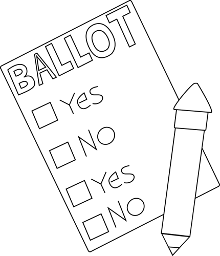 jpg black and white Voting clip art images. Vote clipart
