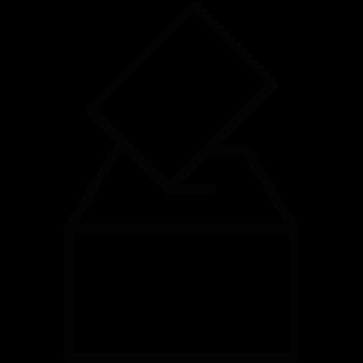 vector free library Voting clipart black and white. Politics box vote votation
