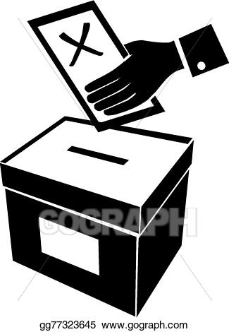 picture free download Vote clipart black and white. Vector art voting or.