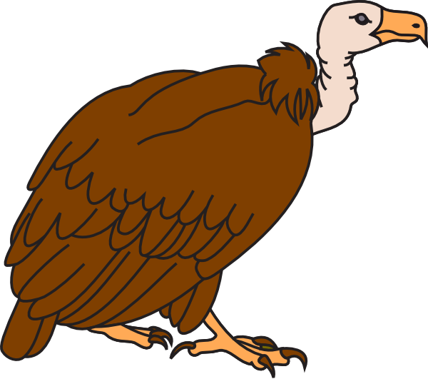 svg free library Free . Vulture clipart buzzard