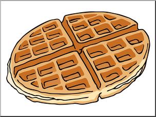 clip art free stock Waffle clipart. Clip art color i