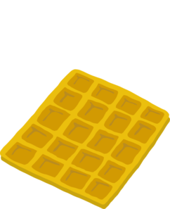 png transparent stock Waffle Clip Art at Clker