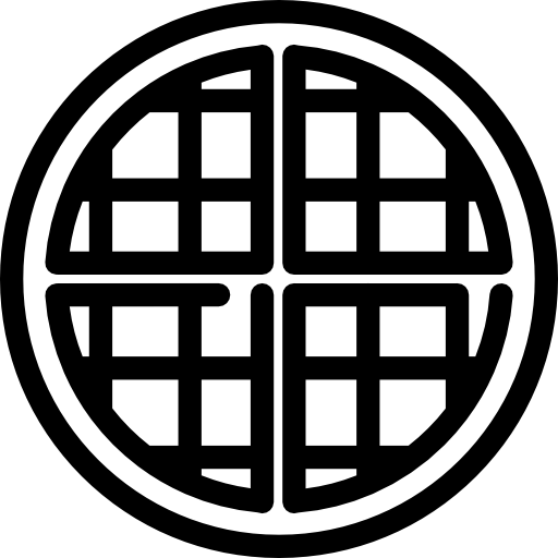 picture black and white library Waffle clipart black and white. Icons png vector free
