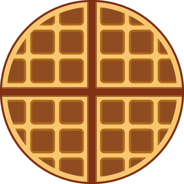 png royalty free Waffle clipart circle. Png images free download