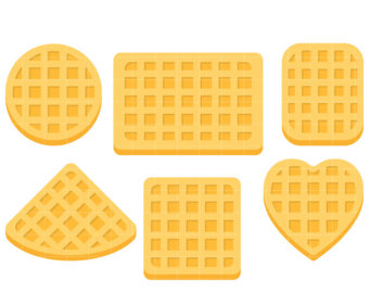 picture freeuse stock Download on webstockreview . Waffle clipart free