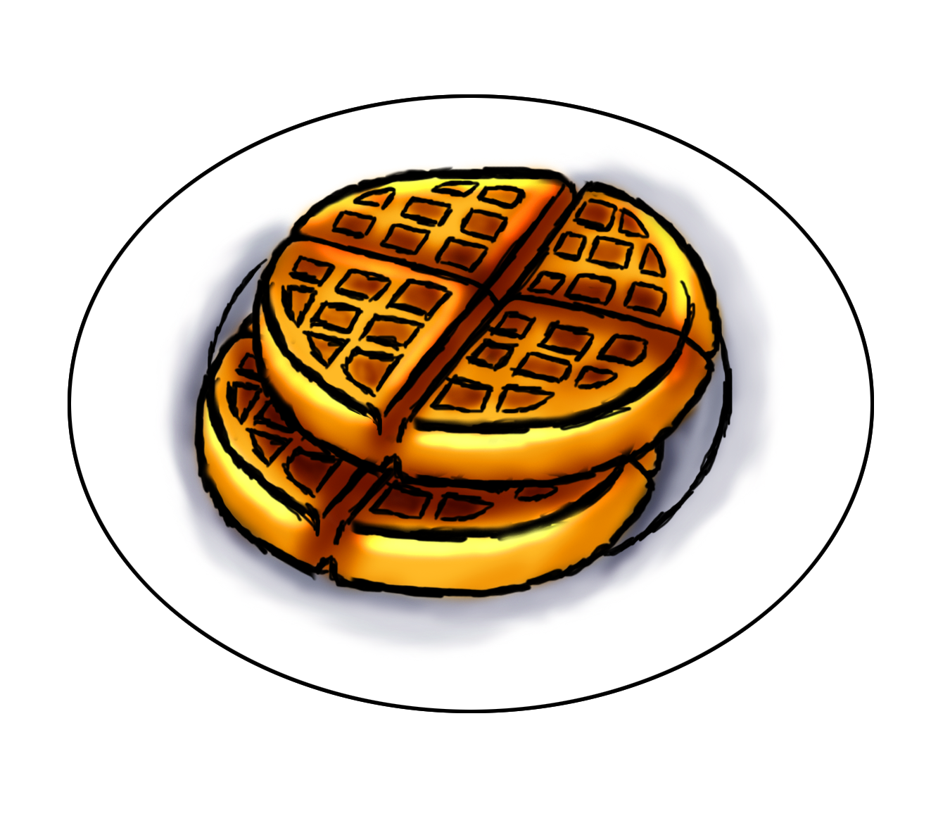 clipart royalty free stock Waffles clipart. Waffle free on dumielauxepices