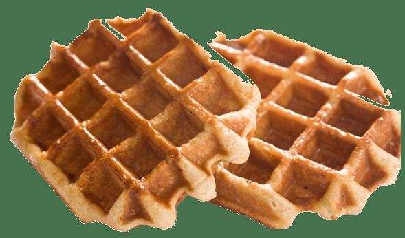 banner free Belgian waffle clipart. Duo of li ge