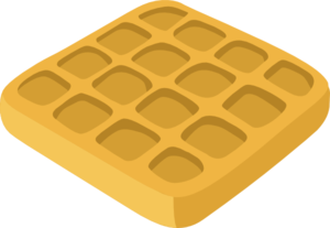jpg royalty free download Clip art at clker. Waffles clipart