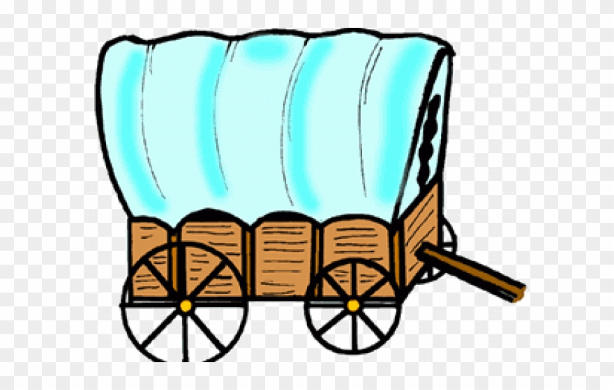 graphic stock Transparent covered clip art. Wagon clipart
