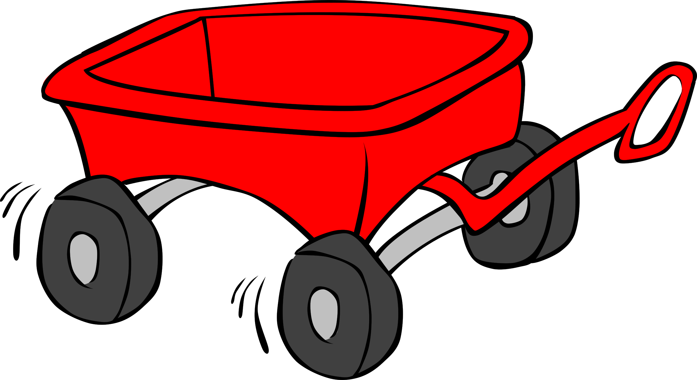 clip art library Kids wagon big image. Carriage clipart animated.
