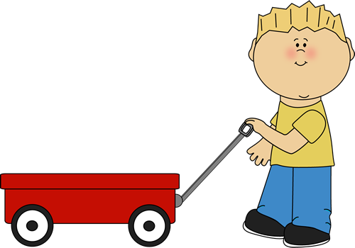 clipart free Wagon clipart. Pulling