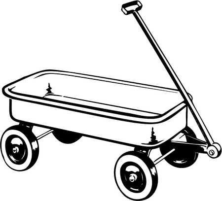 jpg royalty free stock Wagon clipart black and white. Portal .