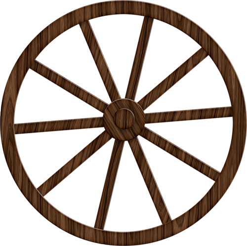 clip freeuse wheels clipart brown #53304972