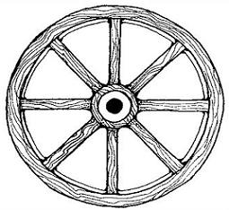 svg library download Wagon wheel clipart. Free