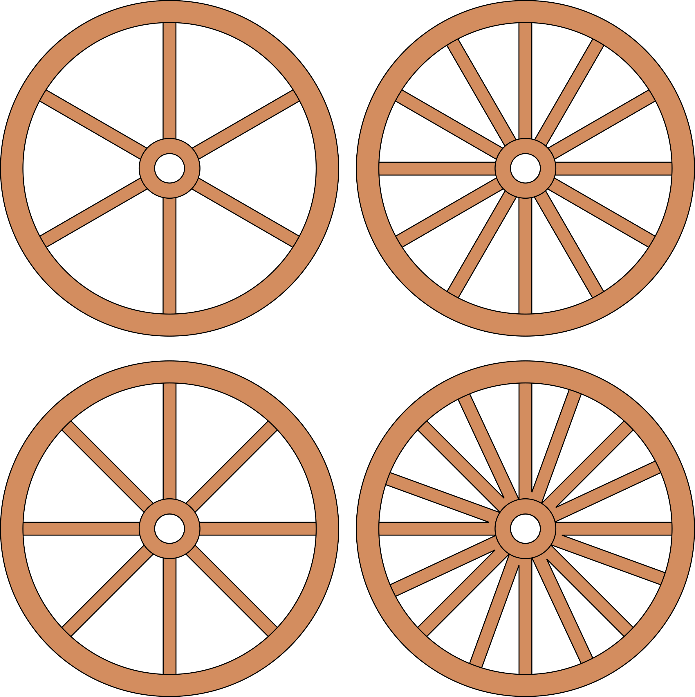 picture royalty free library Cart or wheels big. Wagon wheel clipart