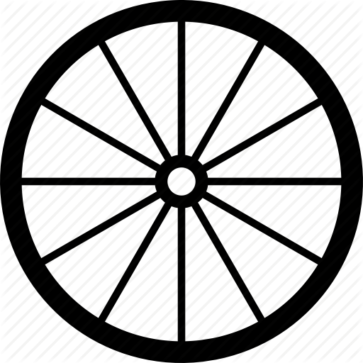 svg library library Silhouette at getdrawings com. Wagon wheel clipart