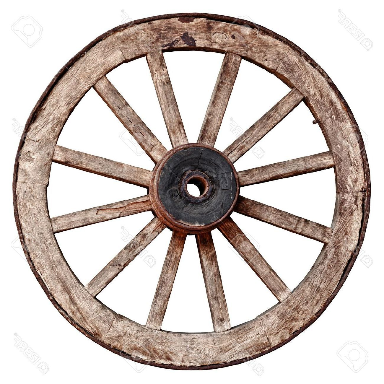 picture library stock Wooden wheel clipart. Wagon wheels