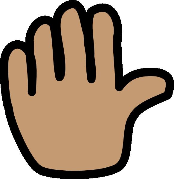 image royalty free stock Goodbye clipart banner. Clip art hand waving