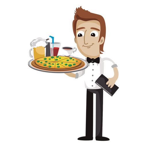 clip art freeuse library Chief free on dumielauxepices. Waiter clipart