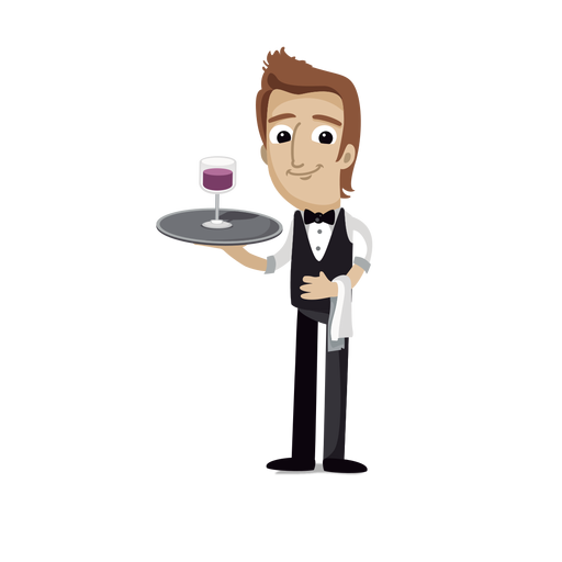 image free stock Waiter clipart. Playstation free on dumielauxepices.