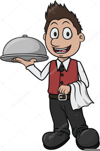 royalty free library Waiter clipart. Images free at clker.