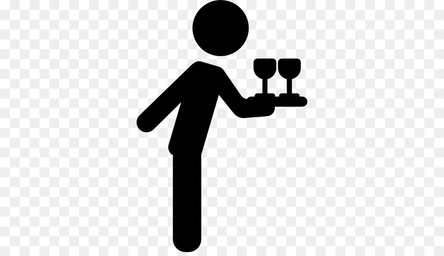 vector freeuse stock Cartoon communication transparent clip. Waiter hand clipart