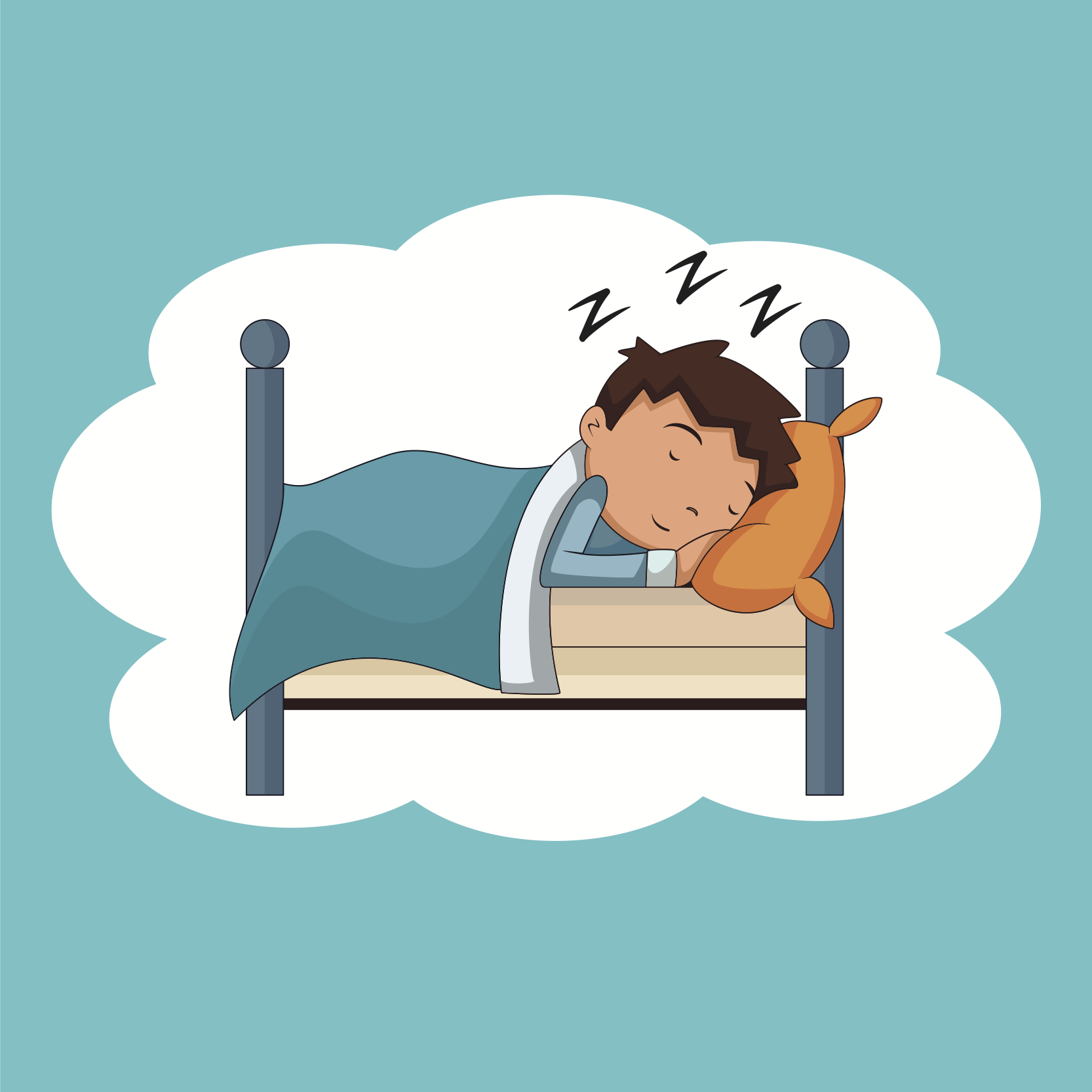 clip art royalty free library Wake clipart enough sleep. Why do we need