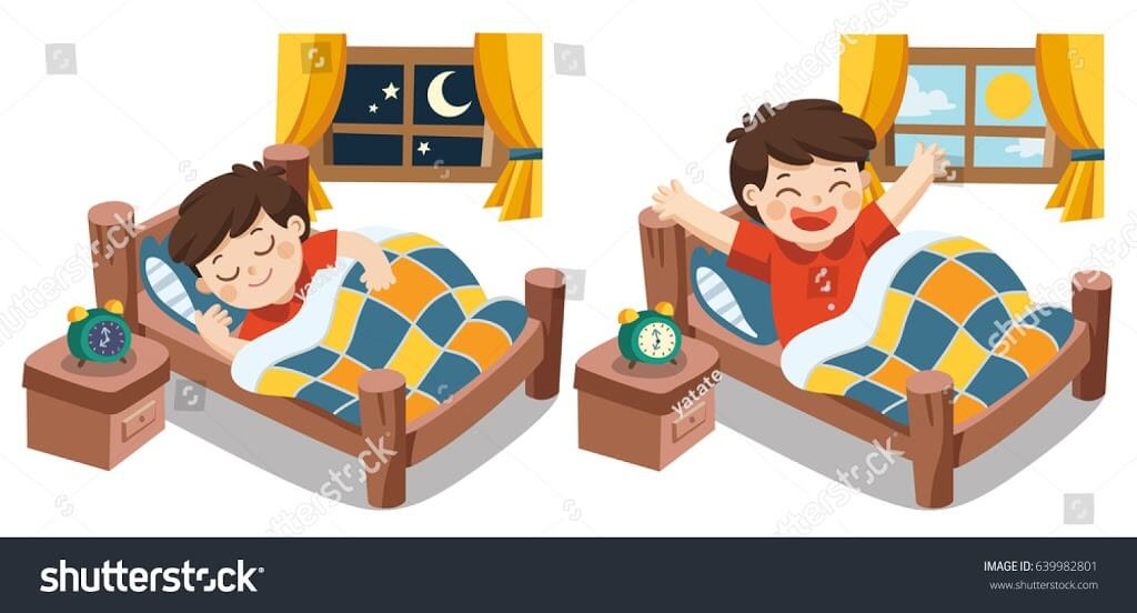 svg black and white library Wake clipart healthy sleep. Benefits of going early.