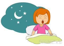 clipart library library Waking clipart morning. Girl wake up google.