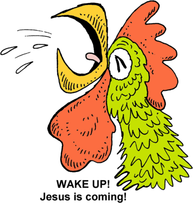 clipart free Wake clipart morning. Image download crowing christart