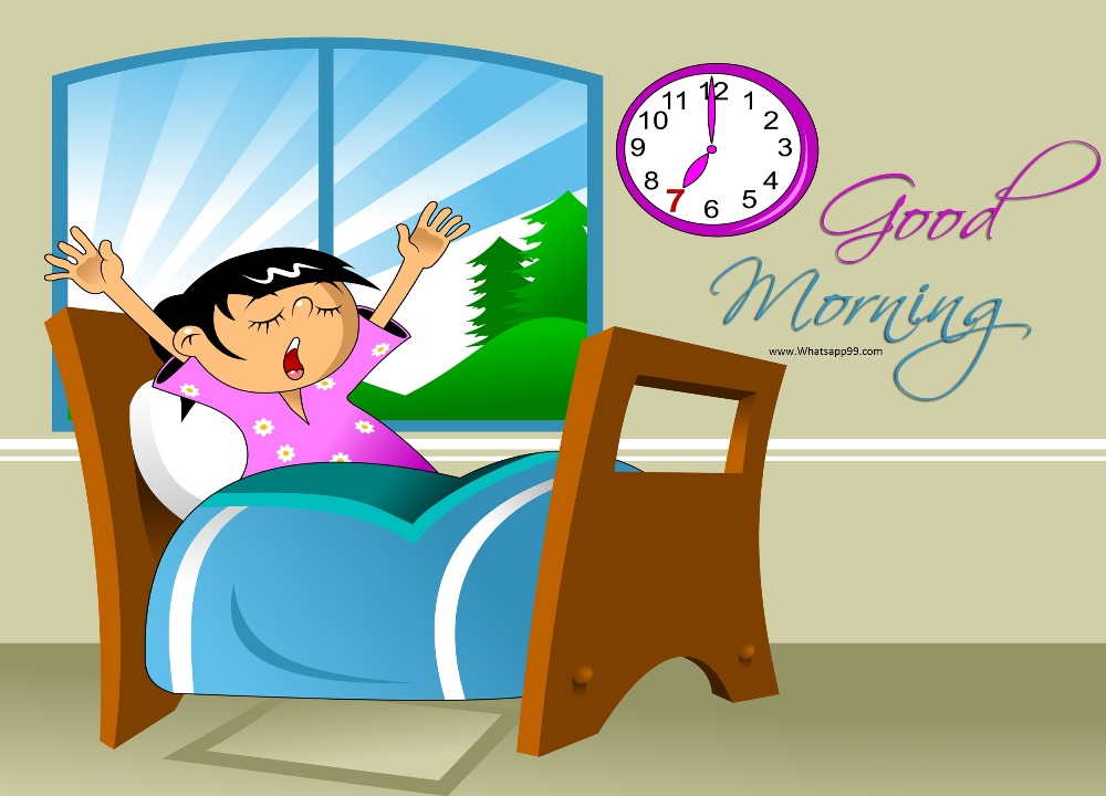 clip art royalty free Wake clipart morning time. To up good free