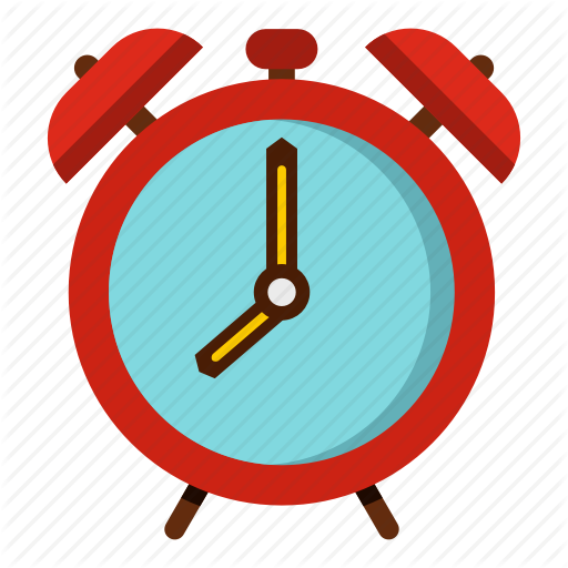 vector freeuse Alarm clock hour timer. Wake clipart morning time