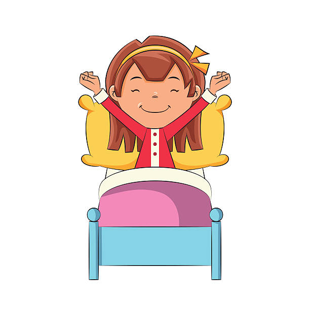 clip art free download To wake station . Waking clipart gets up