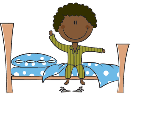 clipart library download Waking clipart. Up in the morning