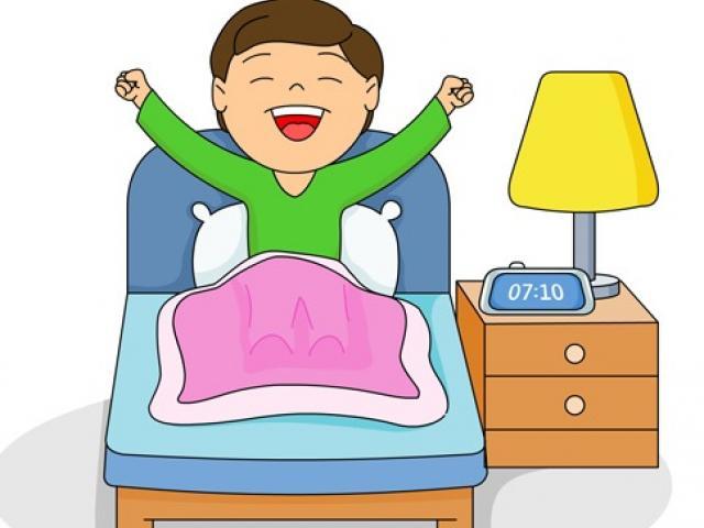 clip stock Morning x free clip. Waking clipart bangun