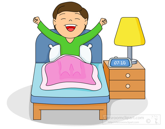 clip art royalty free stock Waking clipart bangun.  wake up clip.