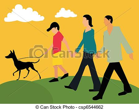 graphic royalty free Morning walk station . Waking clipart moring