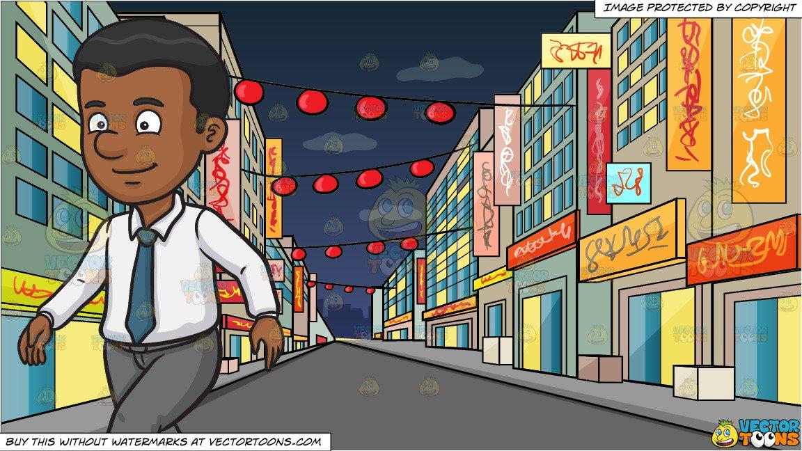 clip art transparent A black man walking. Waking clipart nights.