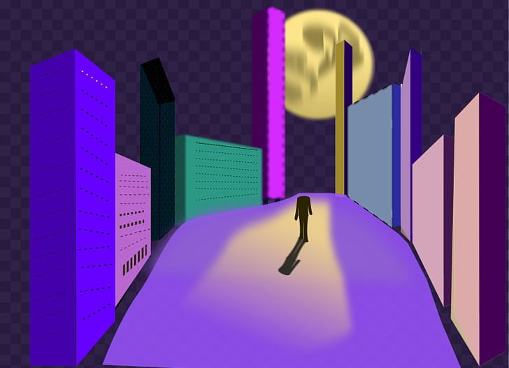 picture free stock Night walking png animation. Waking clipart nights.