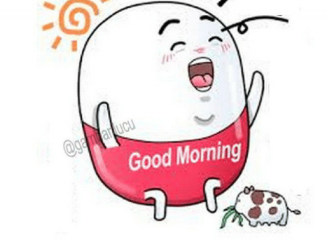vector black and white download Free good morning download. Waking clipart selamat pagi.