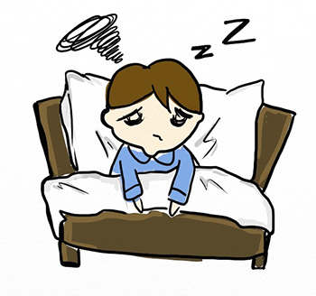 graphic royalty free library Empowering parents to help. Waking clipart sleep disorder.