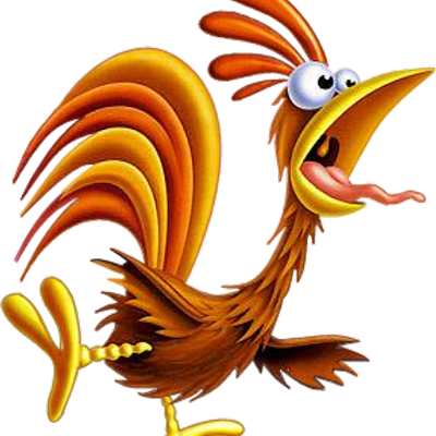 picture transparent download Odd squad rooster on. Waking clipart sleep late.