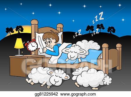 image Vector art man wakes. Waking clipart sleepless.