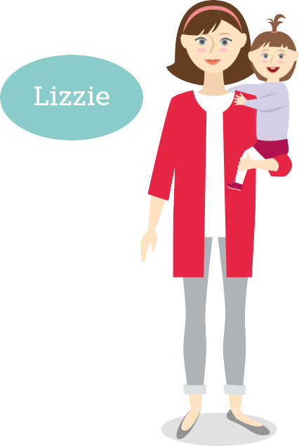 clip art royalty free library Meet lizzie sleep advice. Waking clipart therefore.