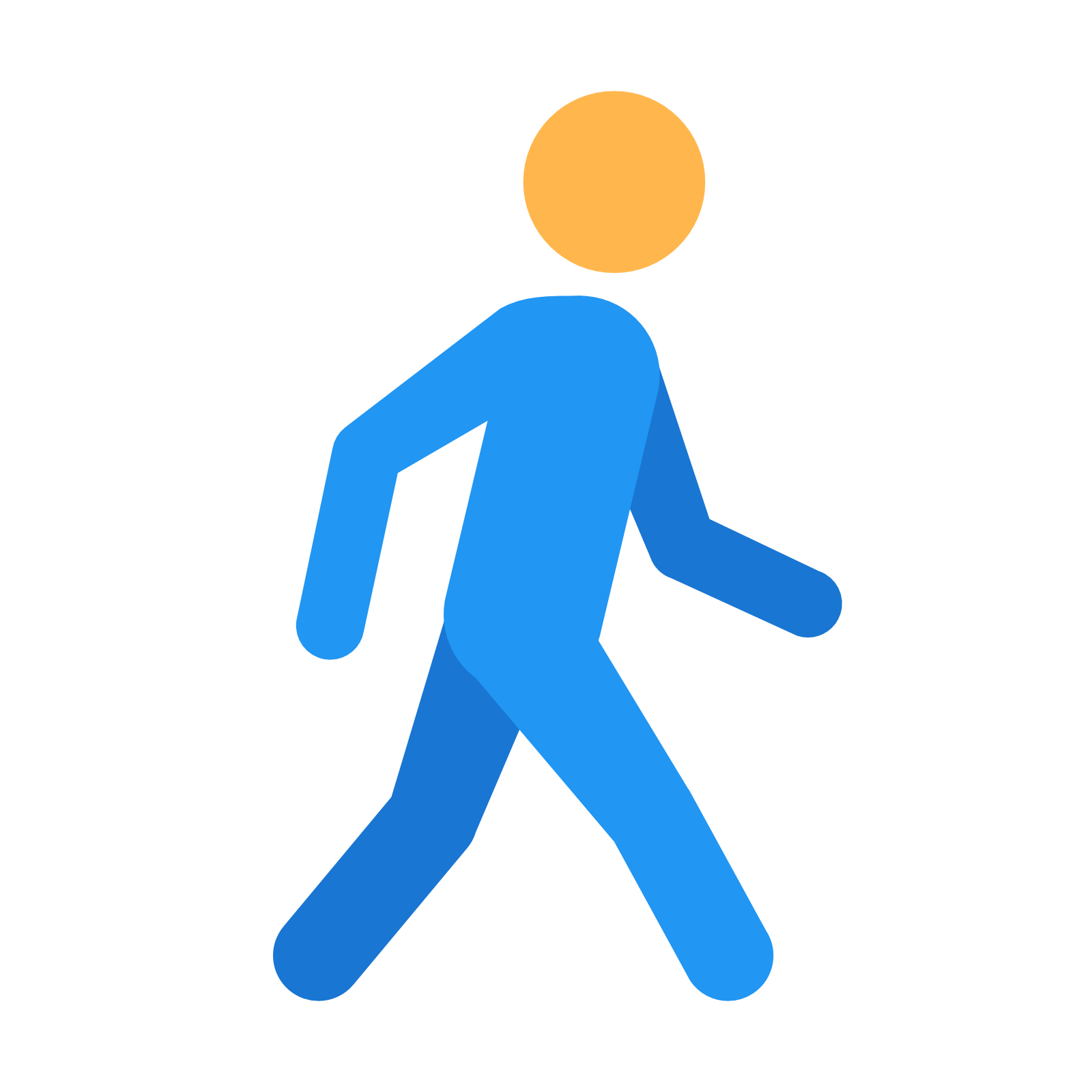 picture transparent stock Walking away clipart.  collection of person.