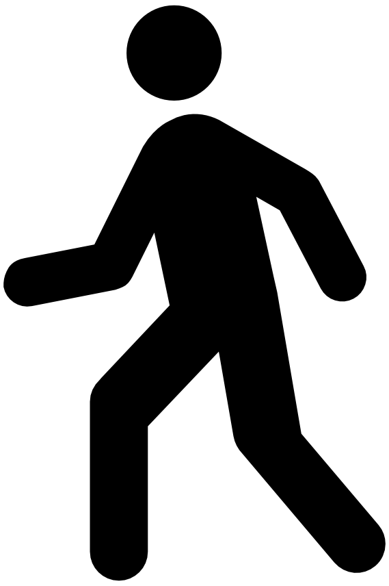 picture freeuse stock Man walking clipart.  collection of walk
