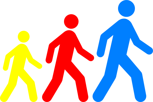 png free library Man colors hi png. People walking clipart.