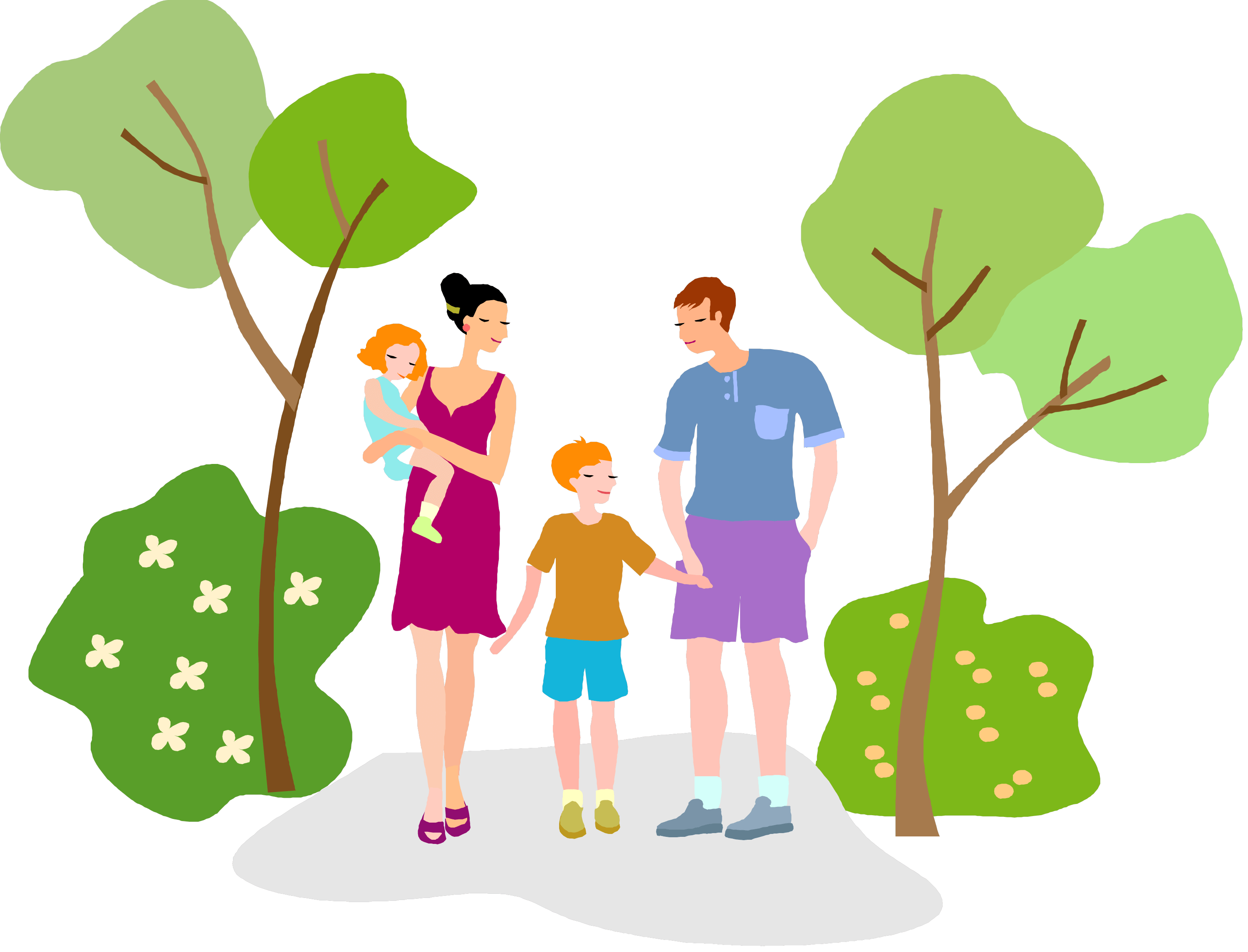 clip art royalty free stock walk in the park clipart #66476763